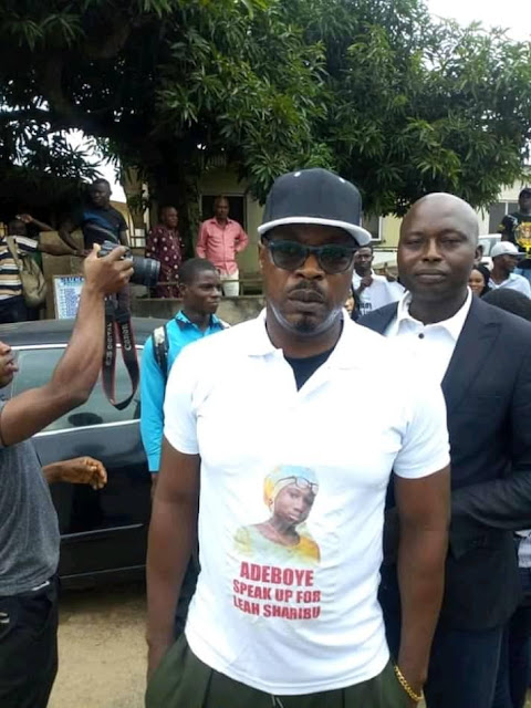 Insecurity: Charly Boy, Other Celebrities Protest At Redemption Camp