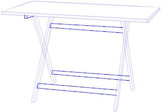 Teknik Cepat dan Mudah Menggambar Meja Lipat