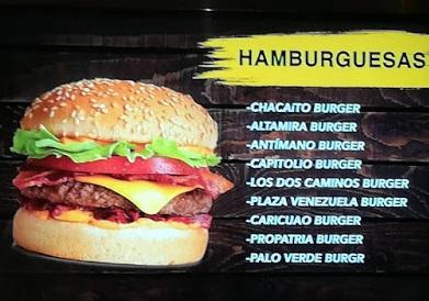 Menu de Bar Chacaíto Caribbean Food Station, en Buenos Aires