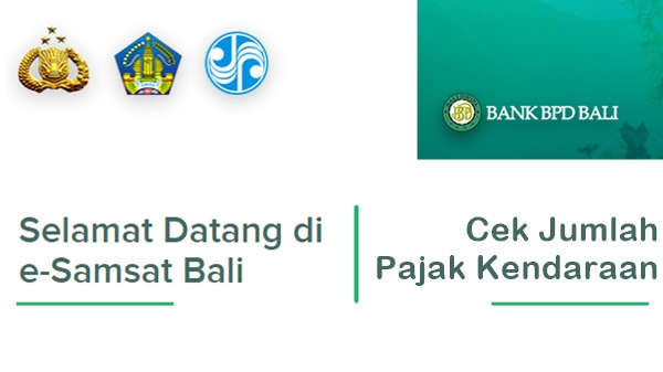 Cara Mengetahui Jumlah Pembayaran Pajak Kendaraan Anda di Bali