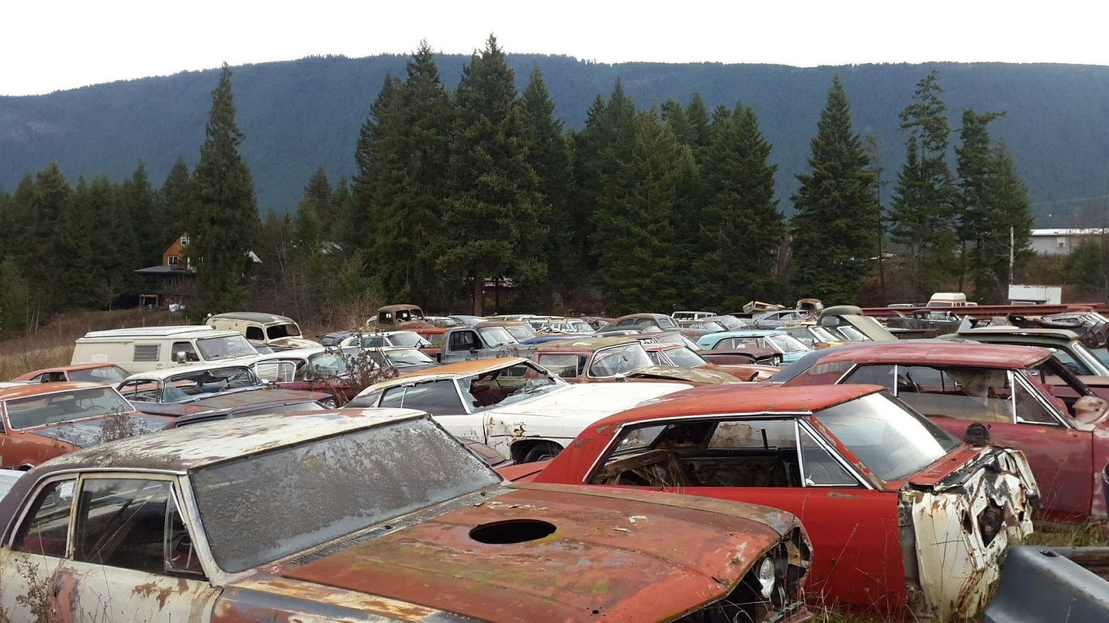 Canadian Man Selling Property With Over 340 Vintage Cars | Carscoops