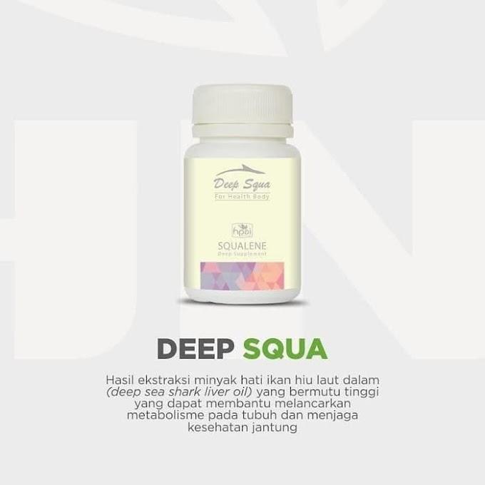 Deep Squa HPAI Suplemen dari Ekstra Hati Ikan Botol