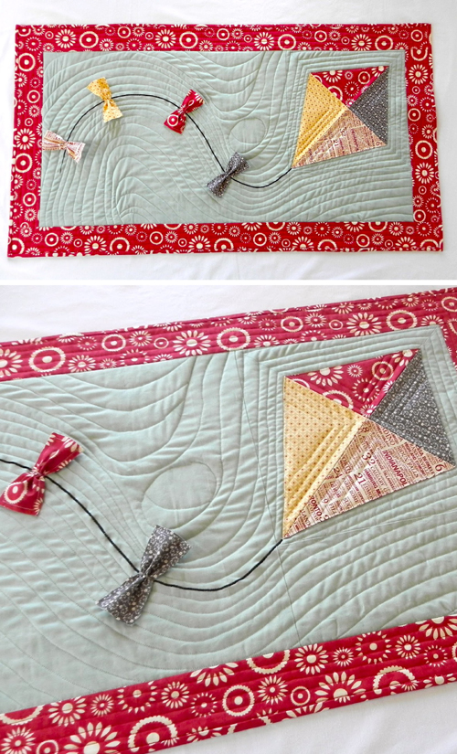 Quick Kite Table Runner - Quilt Tutorial