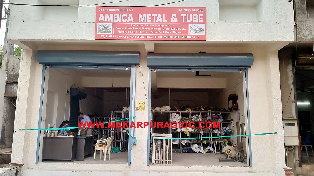 AMBICA METAL & TUBE - Authorised Stockist & Supplier of: Ferrous & Non Ferrous Metals Stainless Steel 202, 304, 316, Pipes Rod, Plates, Sheets & Patta, Patti, Circle, Ring etc...
