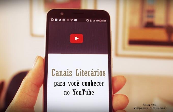 Canais Literários para conhecer no YouTube
