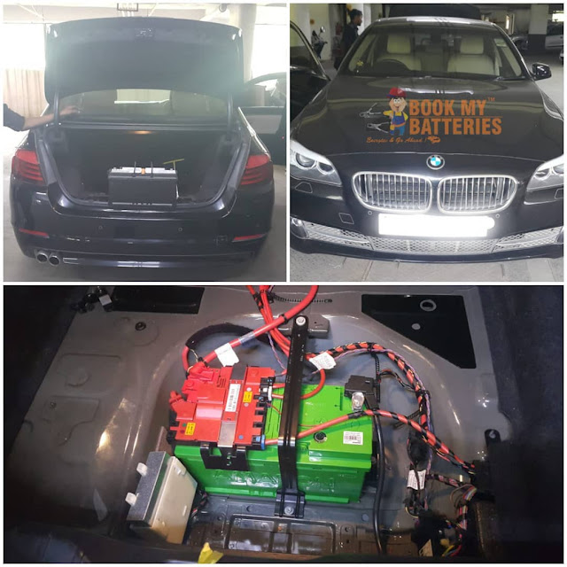 Bmw 520d Diesel Car Battery
