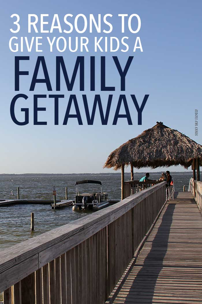 Give your kids the gift of a family getaway instead of more toys. See what they will gain from time together that no other gift can give!