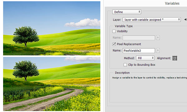 Easy Way to Automate Photoshop with Variables (Part 6)