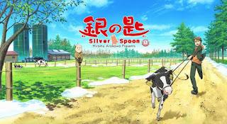 Gin no Saji BD Episode 01 – 11 Subtitle Indonesia [x265]