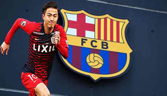 Klub Barcelona Rekrut Pemain Muda Terbaik Jepang