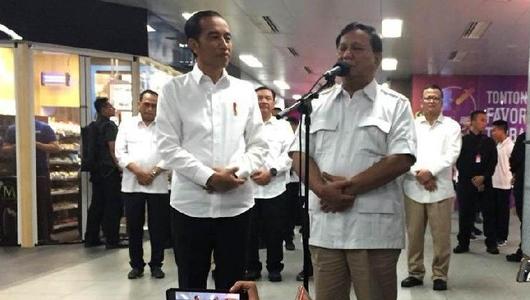 Siap Bantu Jokowi, Prabowo: Maaf Kalau Mengkritik Sekali-kali