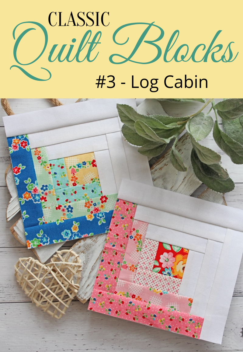 Classic Quilt Blocks Log Cabin An Introduction Img Src