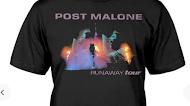 Post Malone Runaway Tour 2021 T Shirt