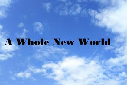 Lirik dan Arti A Whole New World - Zayn Malik OST Aladdin