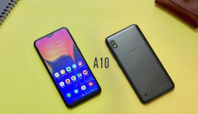 Spesifikasi Ram dan CPU Samsung Galaxy A10