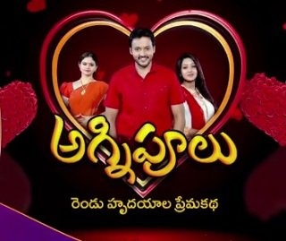 Agnipoolu is a drama tv show aired on Gemini TV.