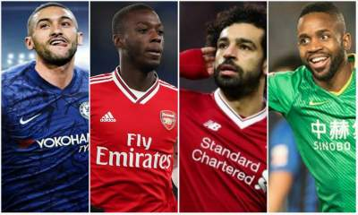 MOST EXPENSIVE AFRICAN FOOTBALLERS