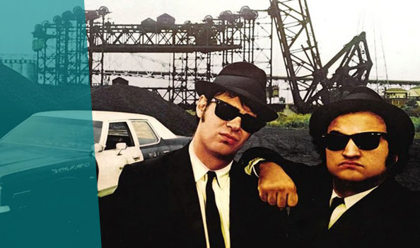 """The blues brothers"" προβάλει το θερινό cinema στο Fougaro Art Center"