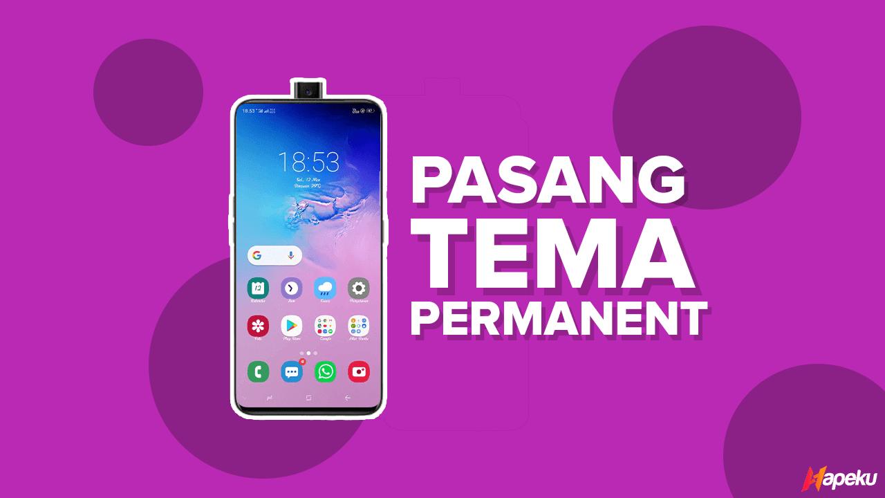 Cara Pasang Tema Permanent pada Smartphone Realme