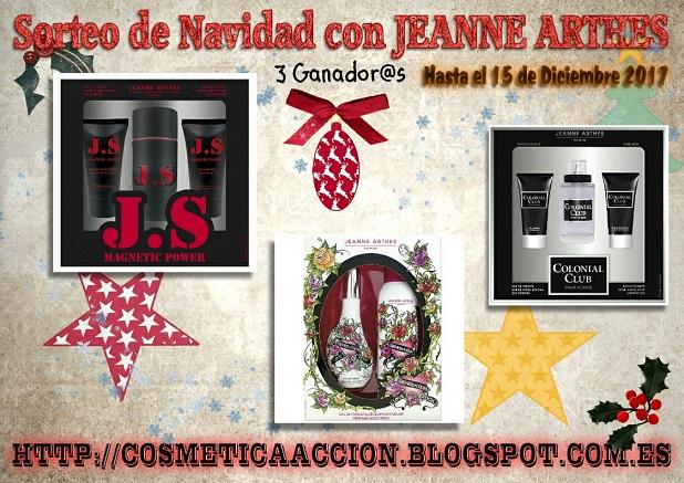 ¡SORTEO Navideño con JEANNE ARTHES! – 3 Ganadores