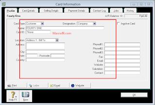 Cara Memasukkan Saldo Awal Customer dan Supplier pada Myob Accounting