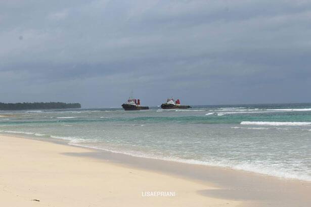 Pantai Labuhan Jukung Krui Pesisir Barat Lampung