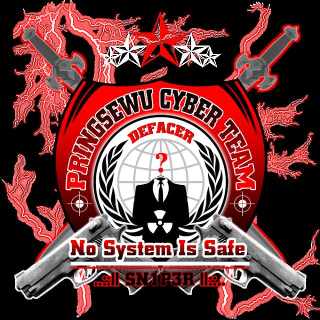 Desain Logo Pringsewu Cyber Team Defacer