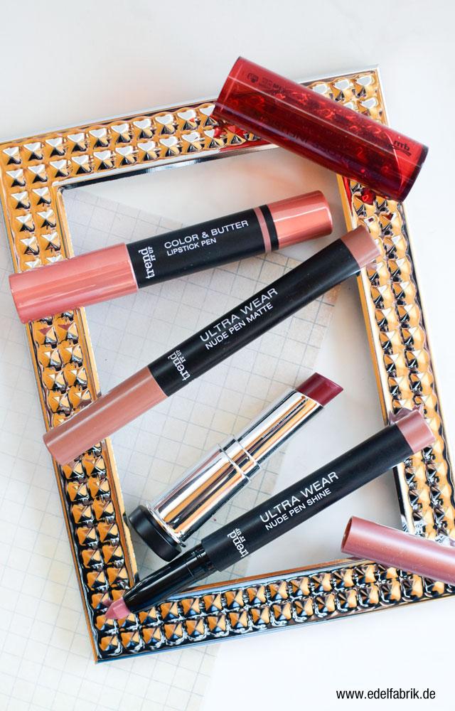 die Edelfabrik, trend IT UP Sortimentsneuheiten Lippenstifte