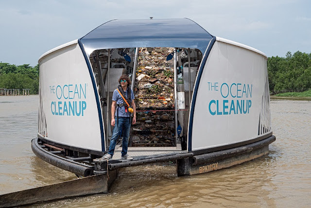 Boyan Slat Pendiri The Ocean Cleanup