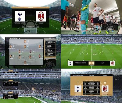 PES 2020 Scoreboard International Champions Cup by Spursfan18