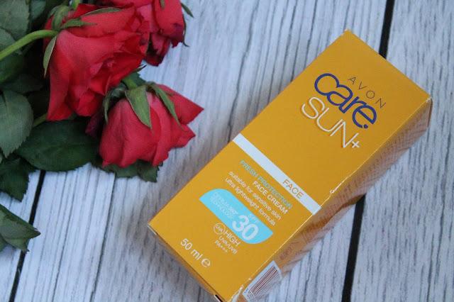 Avon Care Sun krem do twarzy SPF 30
