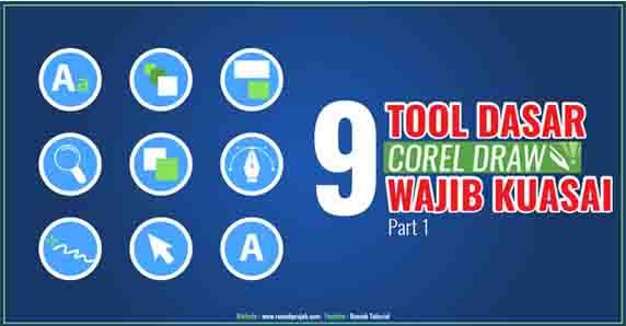 Tools Dasar CorelDraw Wajib Pemula