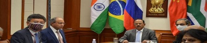 Ajit Doval Chairs BRICS 2021 NSA Meeting