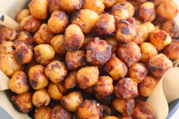 Taco Seasoned Crispy Chickpeas