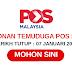 Temuduga Terbuka POS Malaysia
