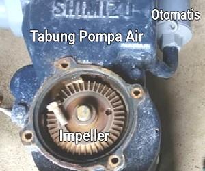 komponen mesin pompa air dan fungsinya