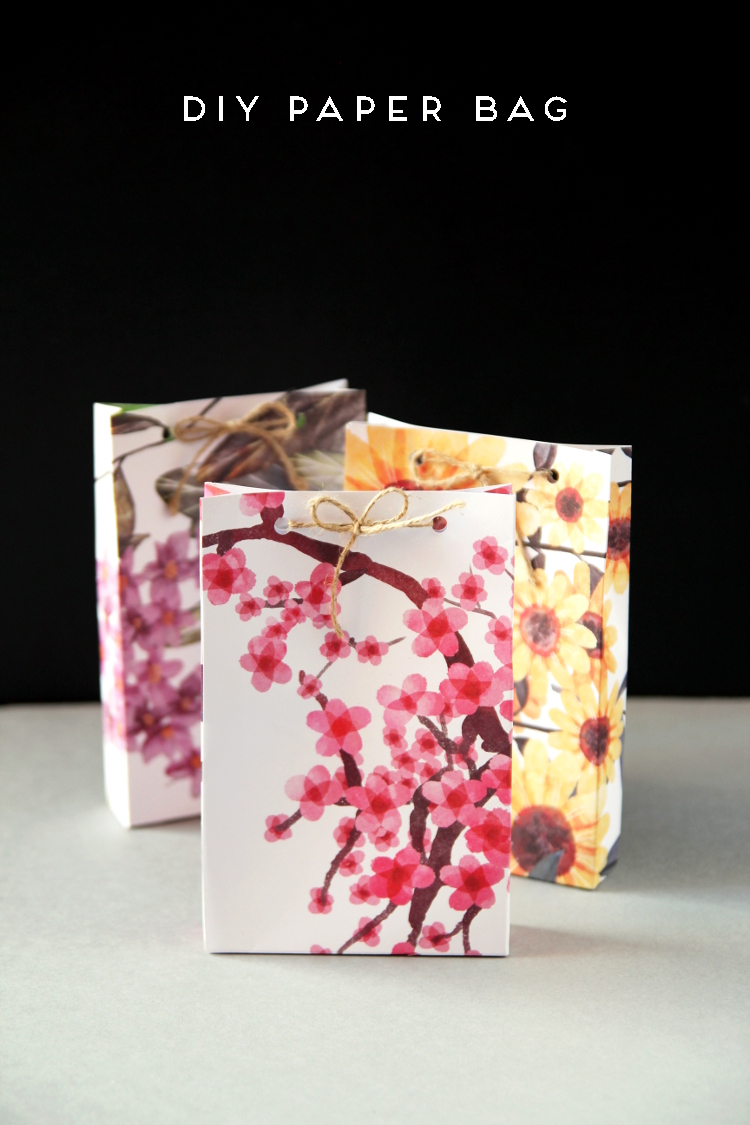Diy paper bag gathering beauty for Craft paper gift bags