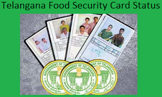 Telangana Food Security Card