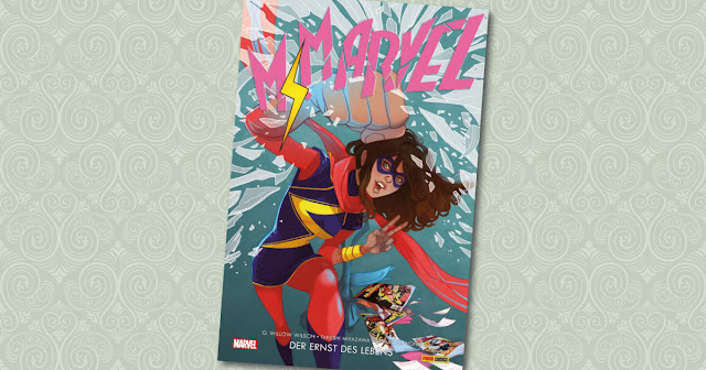 Ms Marvel Panini Cover