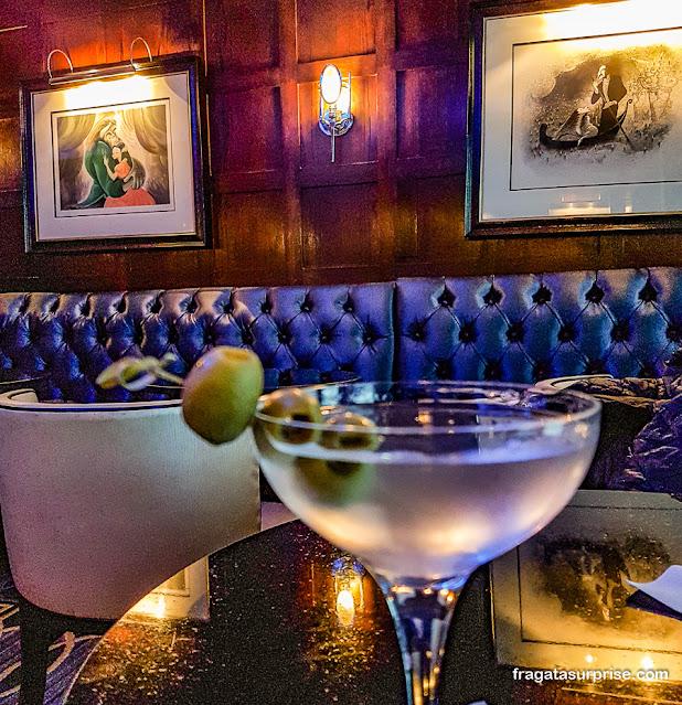 Blue Bar do Hotel Algonquin, Nova York