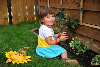 Gardening children fun