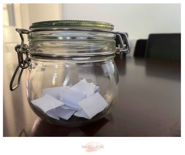 2020 memories, memory jar, family memories