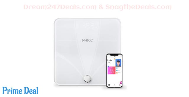 Bluetooth Body Fat Scales Digital Bathroom Weight Scale 50% OFF
