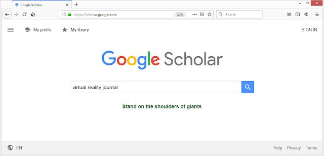 Mencari Jurnal Internasional di Google Scholar