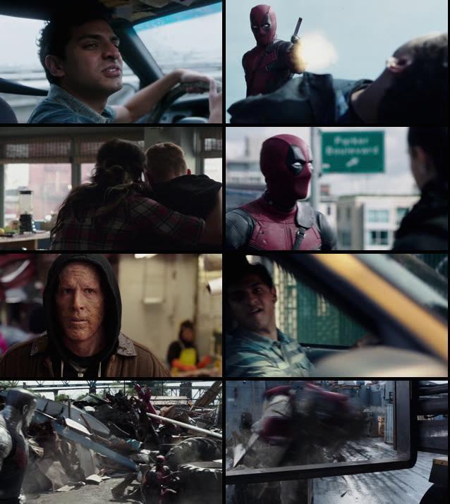 Deadpool 2016 Dual Audio Hindi 720p BRRip