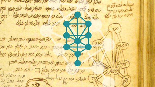 símbolo del árbol de la vida de la cábala