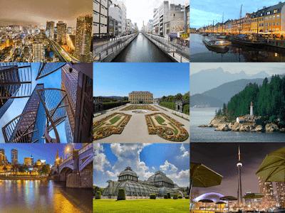 أفضل 10 مدن للعيش في العالم