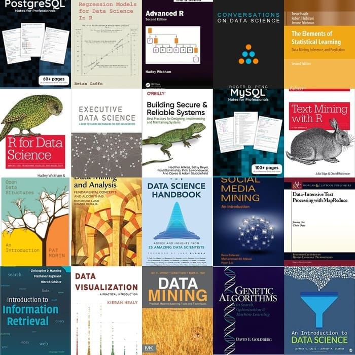 100+ Free Data Science Books