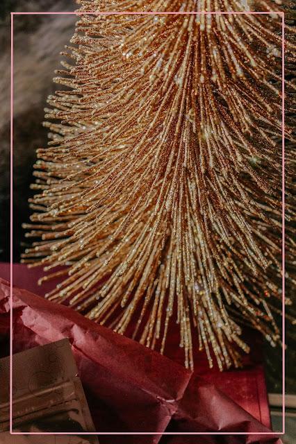 Luxury Gold Mini Christmas Tree