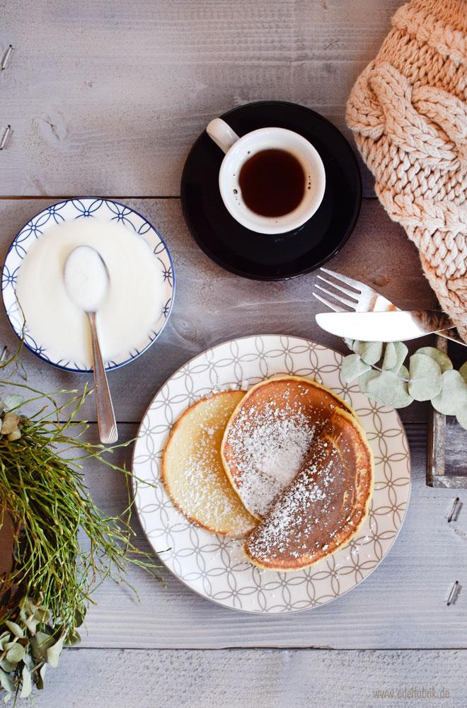 Pancakes, quick and dirty, easy Rezept für Pfannkuchen